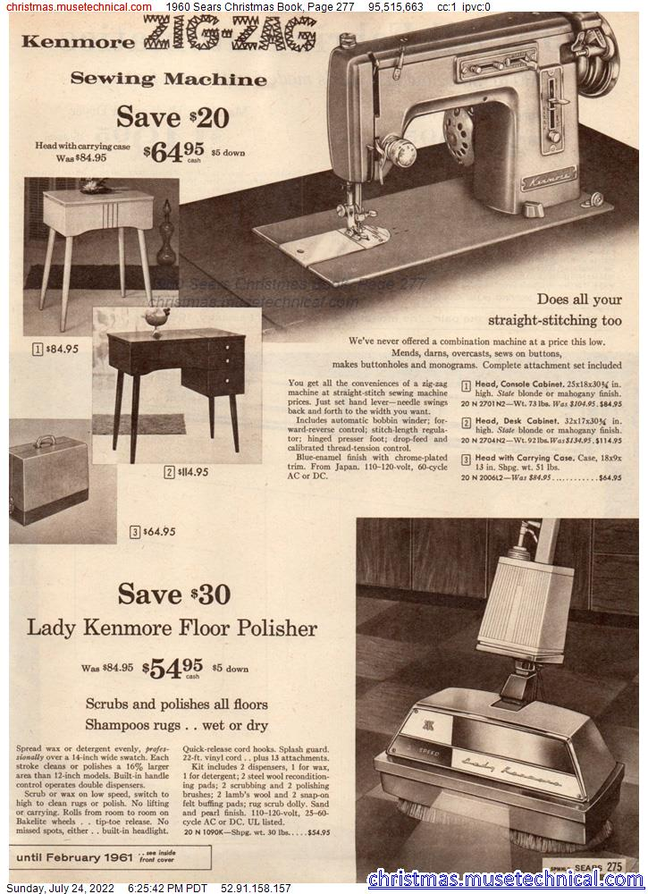 1960 Sears Christmas Book, Page 277