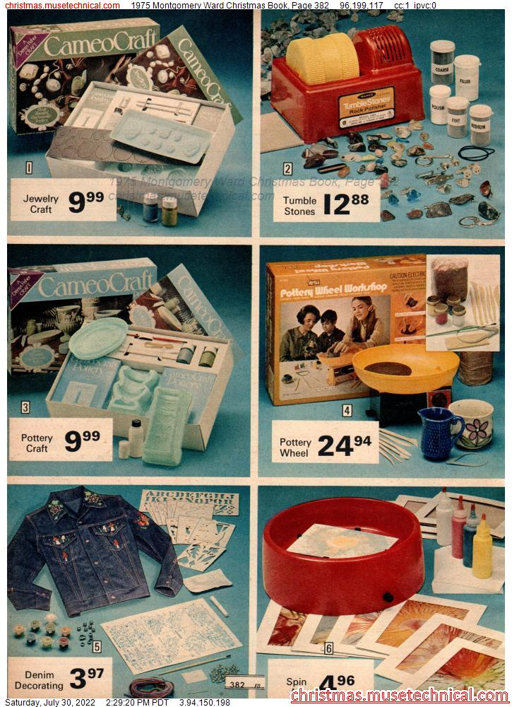 1975 Montgomery Ward Christmas Book, Page 382