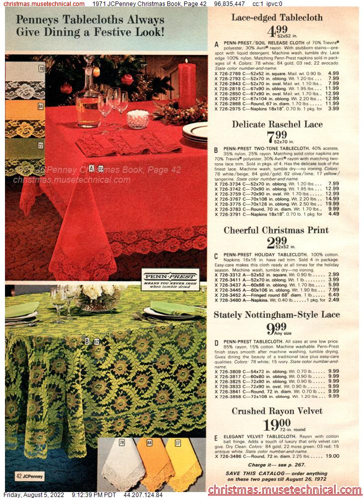1971 JCPenney Christmas Book, Page 42