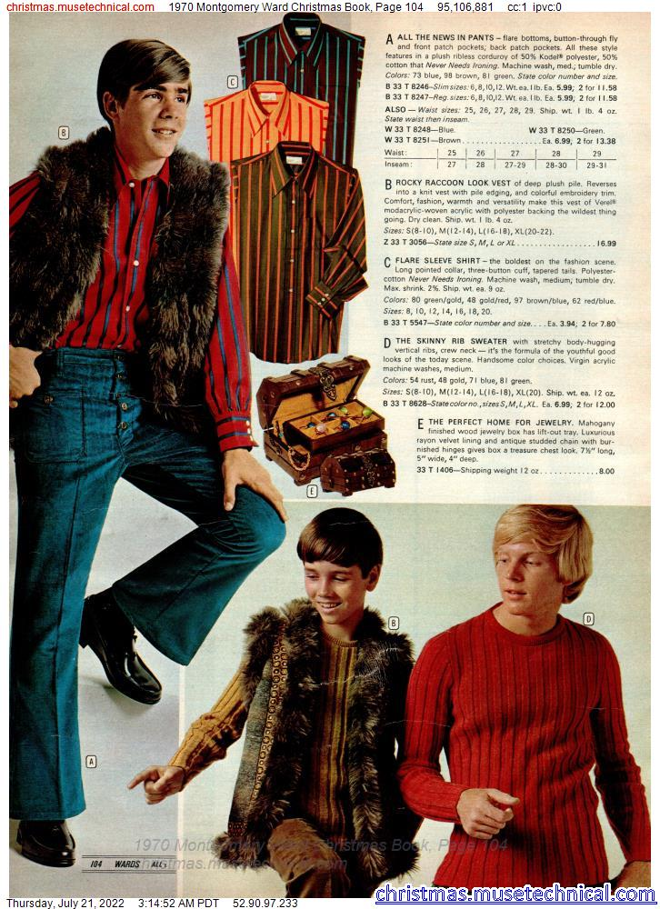 1970 Montgomery Ward Christmas Book, Page 104