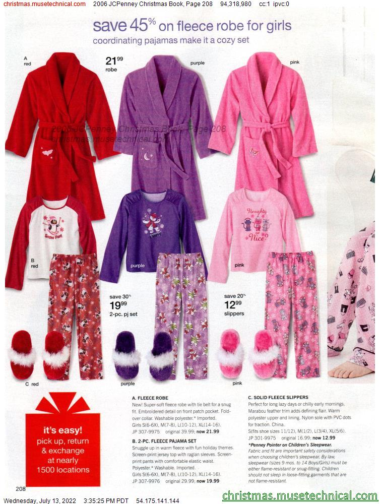 2006 JCPenney Christmas Book, Page 208