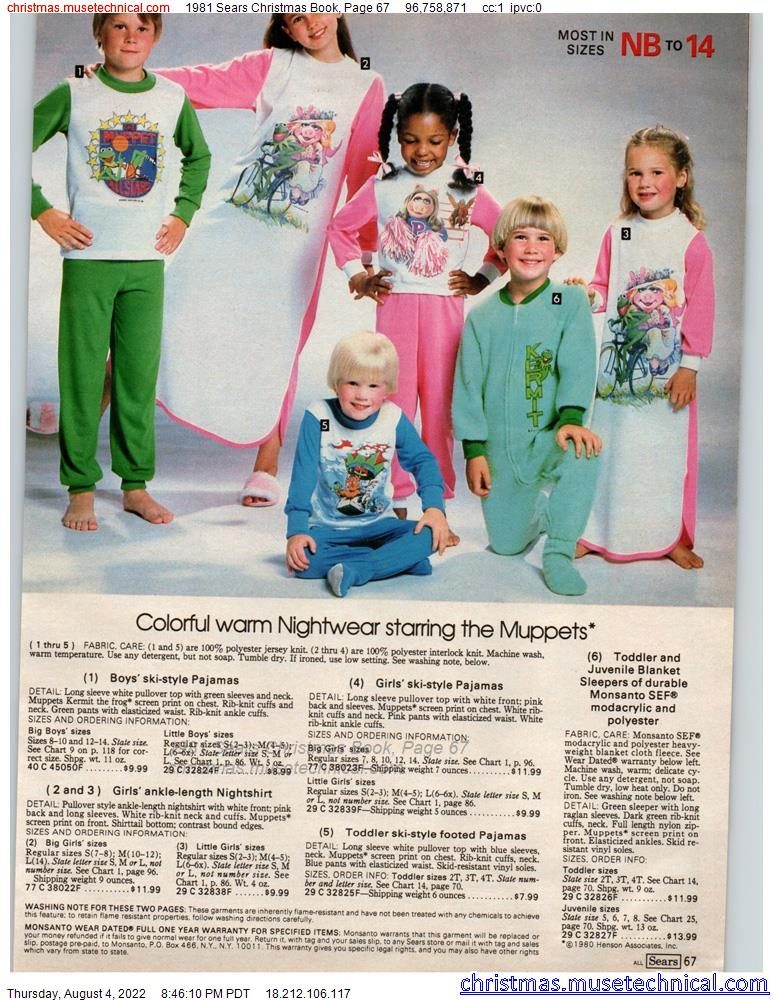 1981 Sears Christmas Book, Page 67