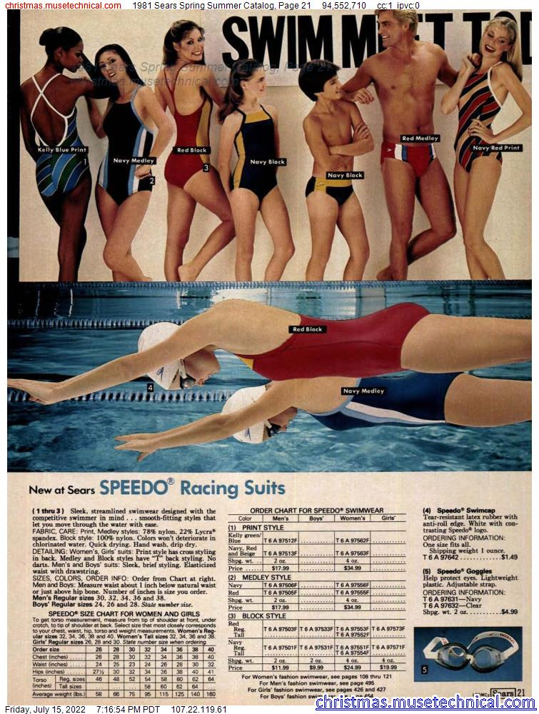1981 Sears Spring Summer Catalog, Page 21