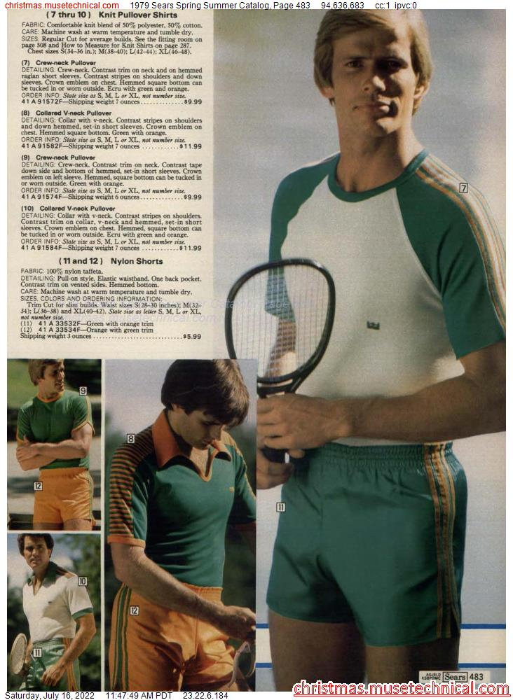 1979 Sears Spring Summer Catalog, Page 483