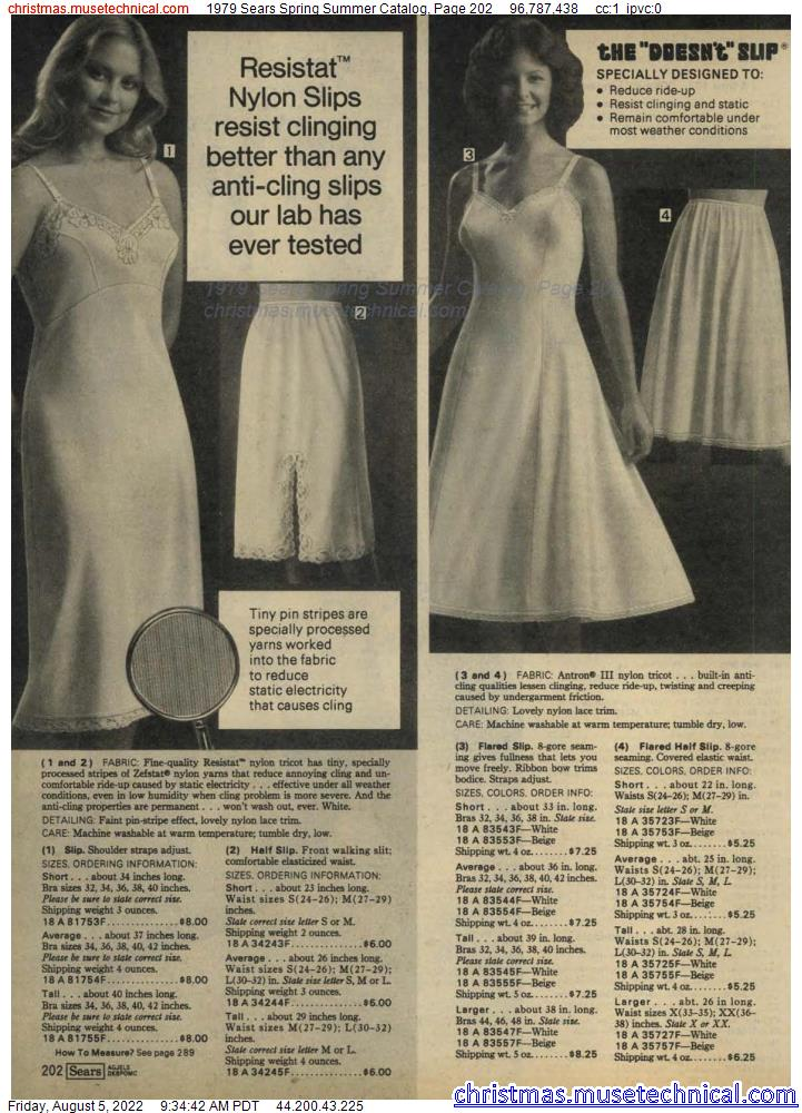 1979 Sears Spring Summer Catalog, Page 202
