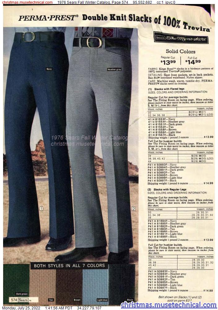 1976 Sears Fall Winter Catalog, Page 574