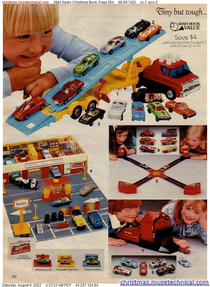 1984 Sears Christmas Book, Page 564
