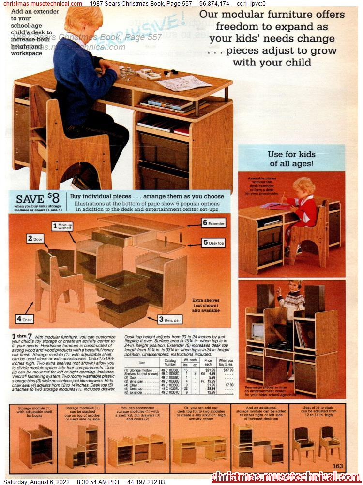 1987 Sears Christmas Book, Page 557