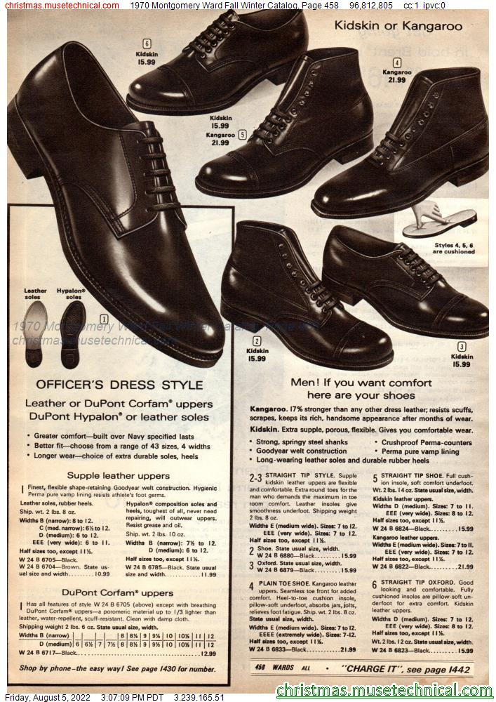 1970 Montgomery Ward Fall Winter Catalog, Page 458