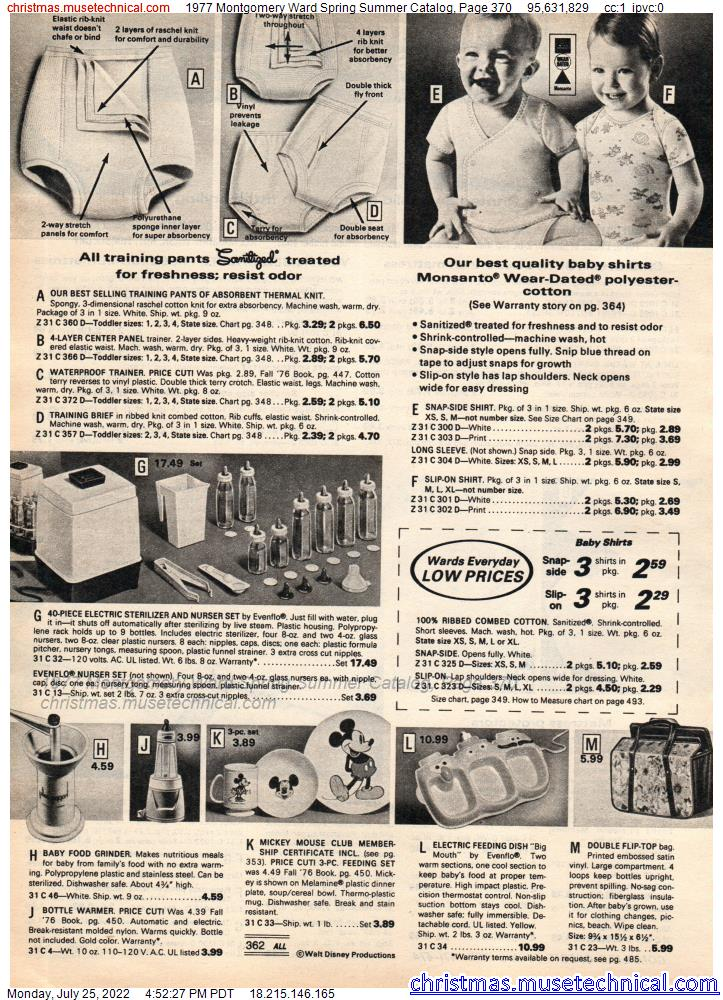 1977 Montgomery Ward Spring Summer Catalog, Page 370