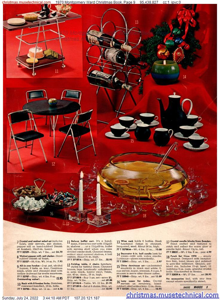 1970 Montgomery Ward Christmas Book, Page 9