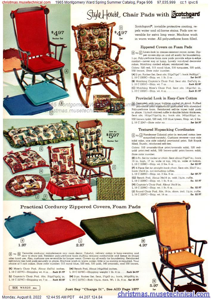 1965 Montgomery Ward Spring Summer Catalog, Page 906