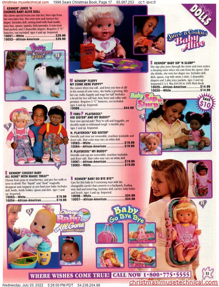 1996 Sears Christmas Book, Page 17