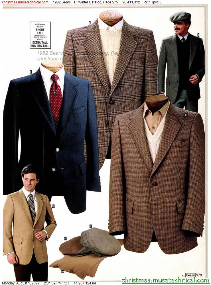 1982 Sears Fall Winter Catalog, Page 575