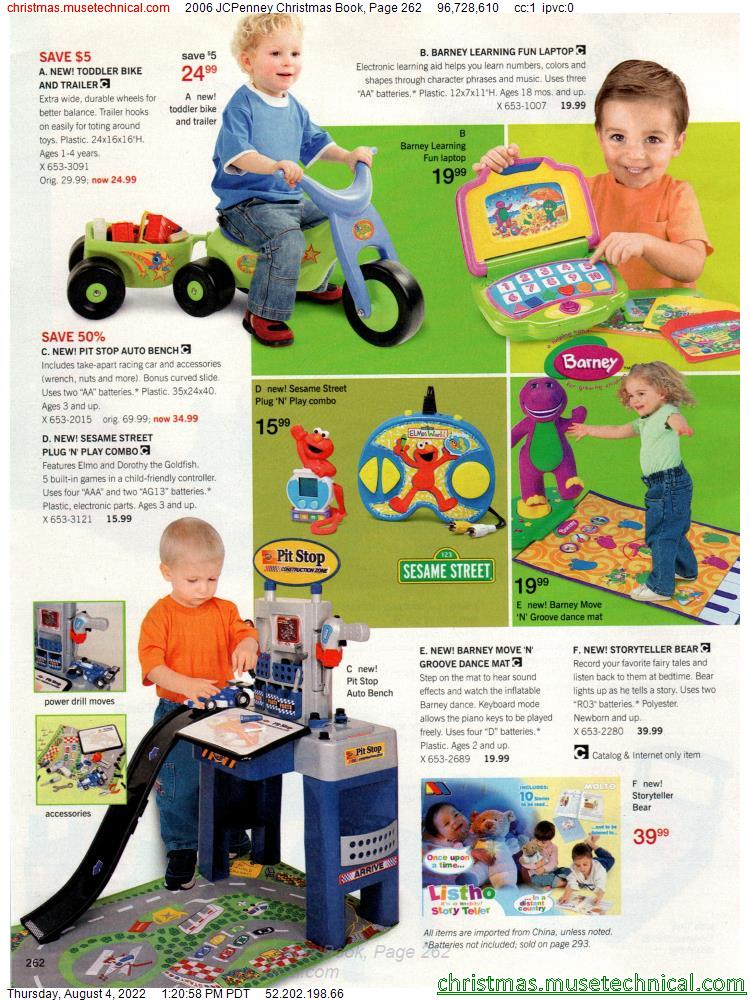 2006 JCPenney Christmas Book, Page 262