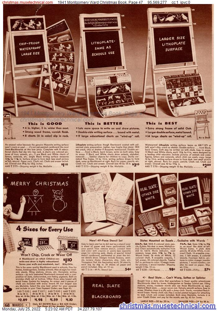 1941 Montgomery Ward Christmas Book, Page 47