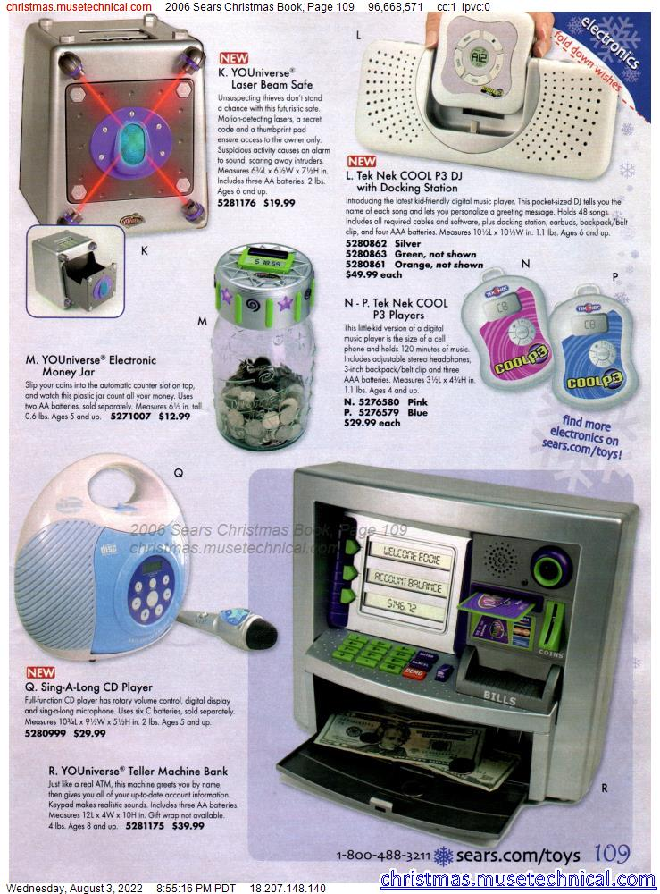 2006 Sears Christmas Book, Page 109