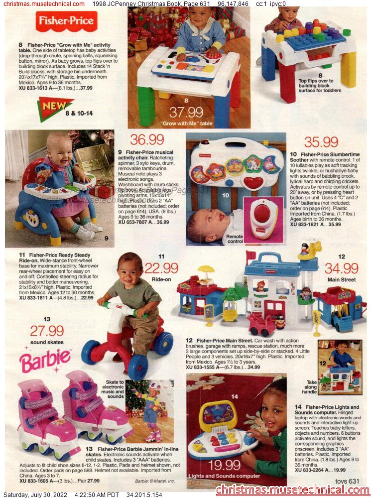 1998 JCPenney Christmas Book, Page 631