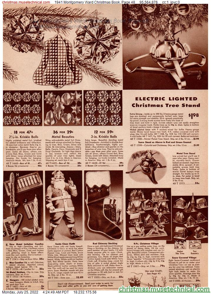 1941 Montgomery Ward Christmas Book, Page 48