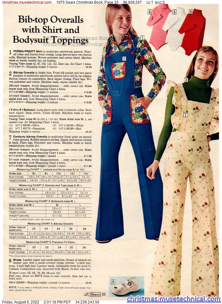 1975 Sears Christmas Book, Page 35