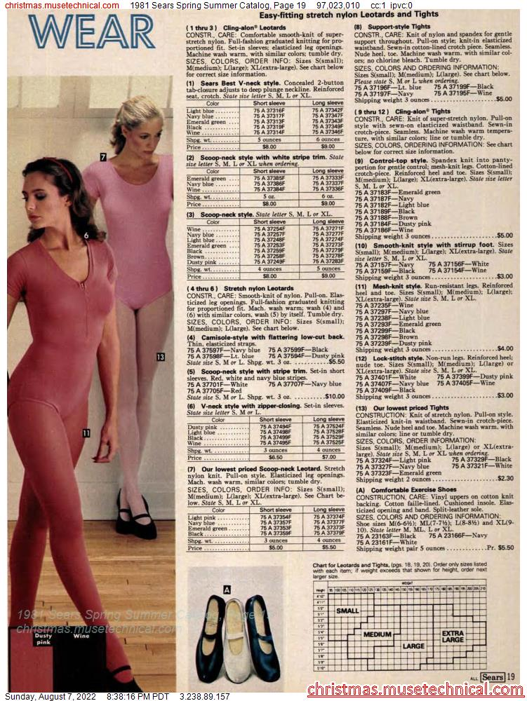 1981 Sears Spring Summer Catalog, Page 19