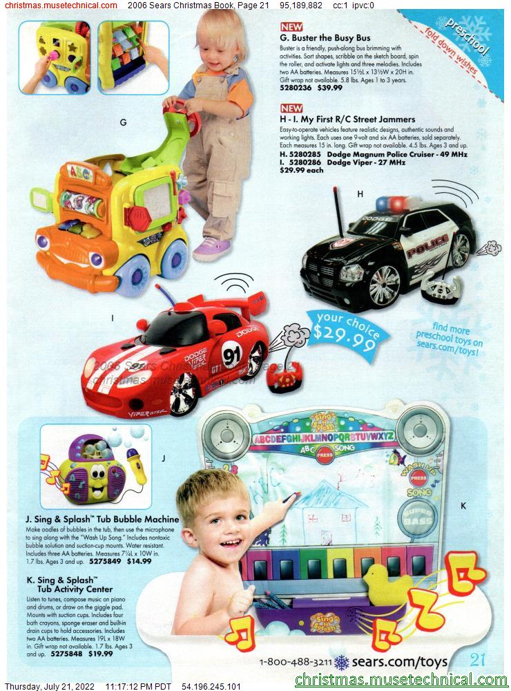 2006 Sears Christmas Book, Page 21