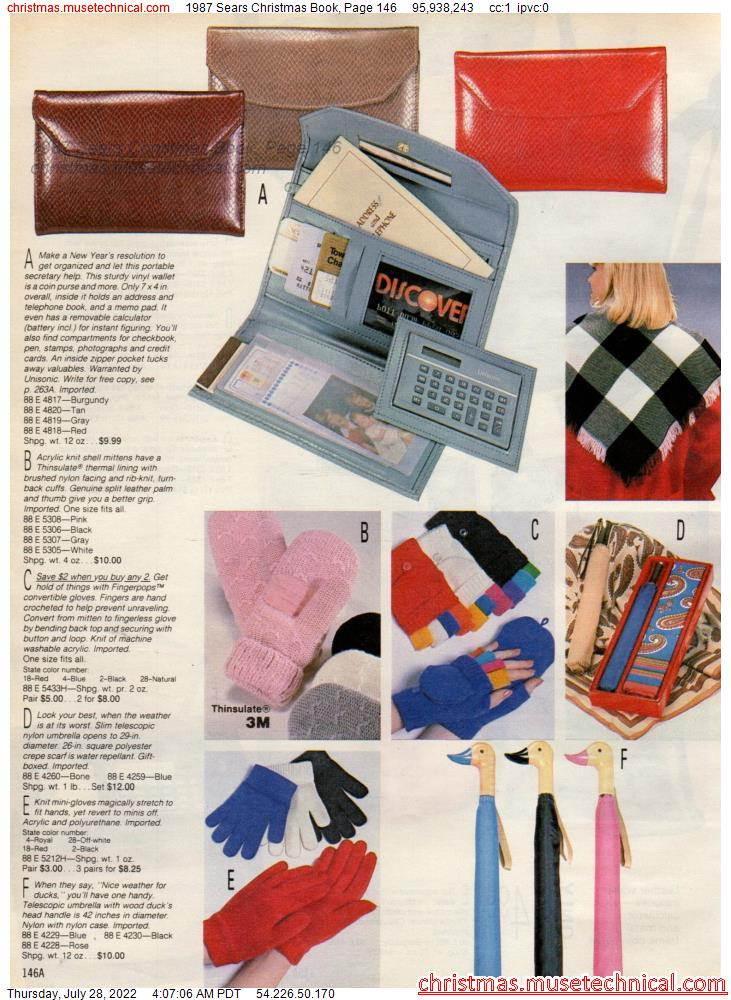 1987 Sears Christmas Book, Page 146