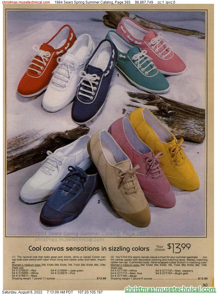 1984 Sears Spring Summer Catalog, Page 365