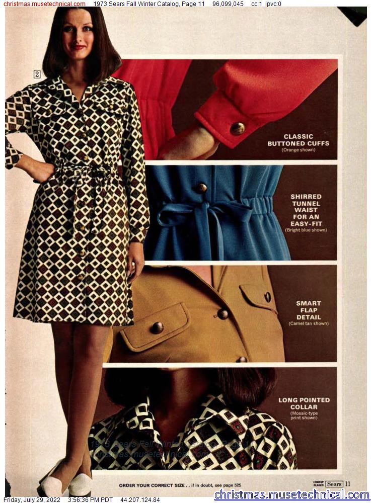 1973 Sears Fall Winter Catalog, Page 11