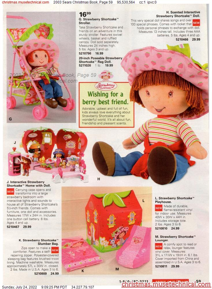 2003 Sears Christmas Book, Page 59
