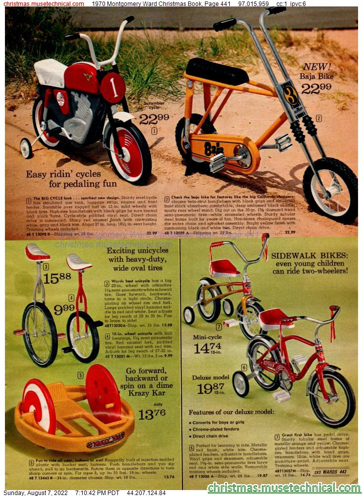 1970 Montgomery Ward Christmas Book, Page 441