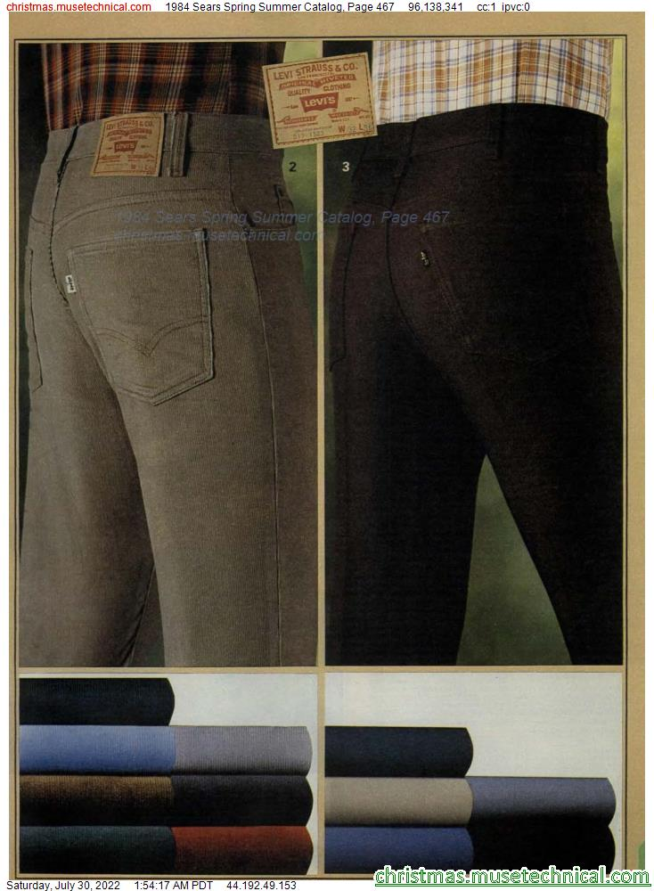 1984 Sears Spring Summer Catalog, Page 467