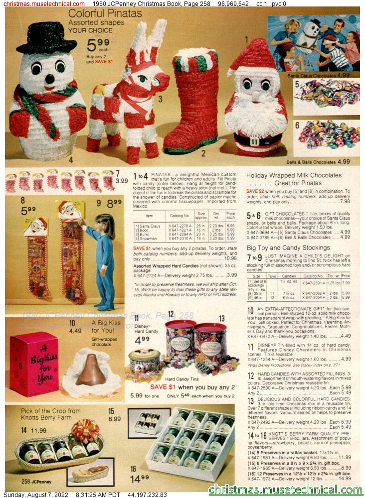 1980 JCPenney Christmas Book, Page 258