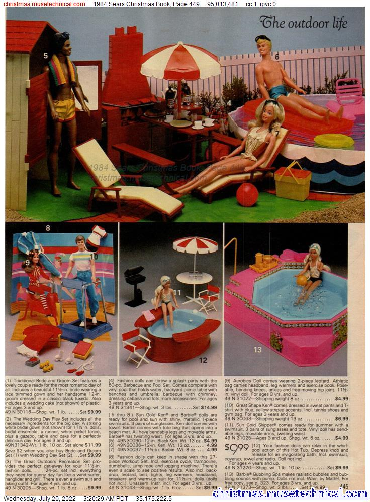 1984 Sears Christmas Book, Page 449