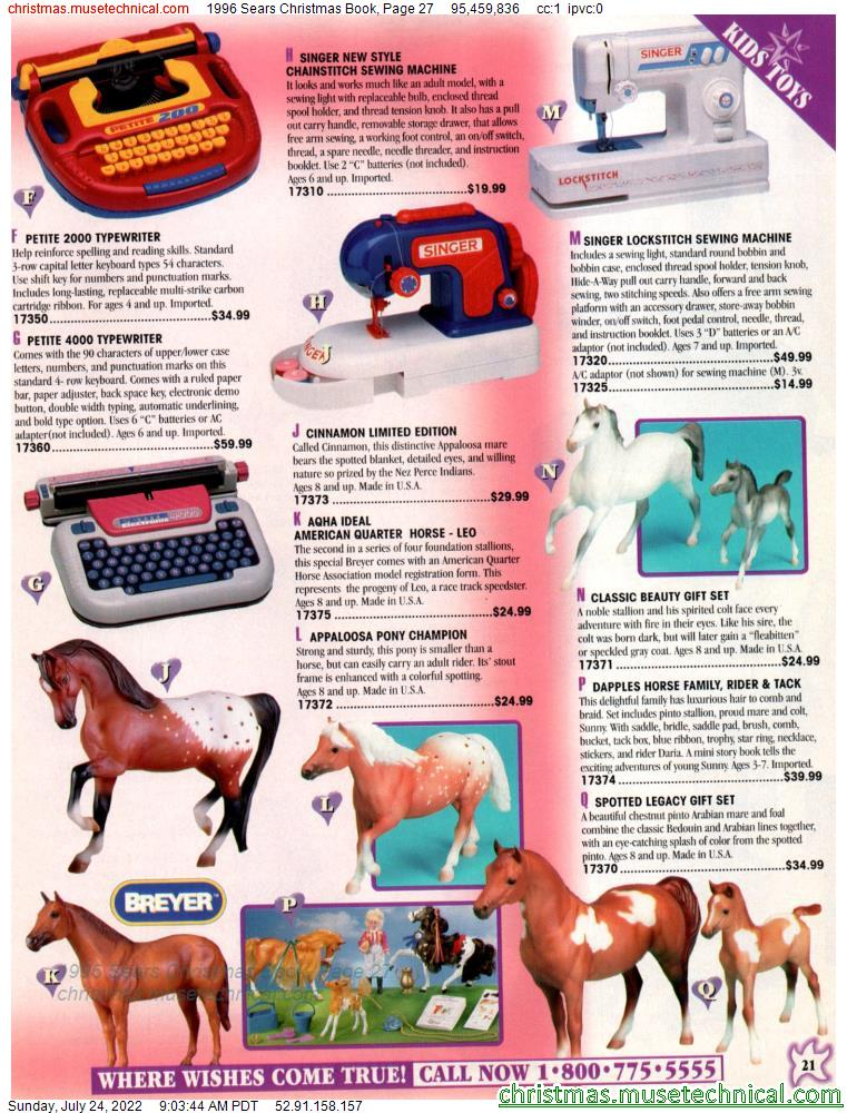1996 Sears Christmas Book, Page 27