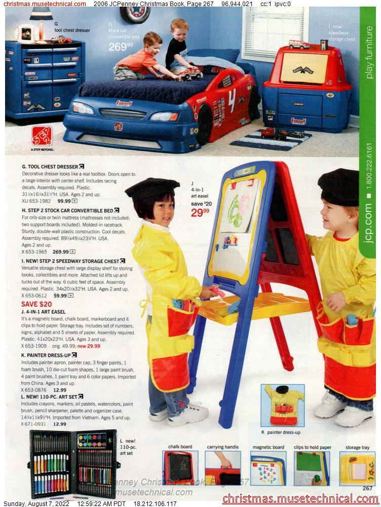 2006 JCPenney Christmas Book, Page 267