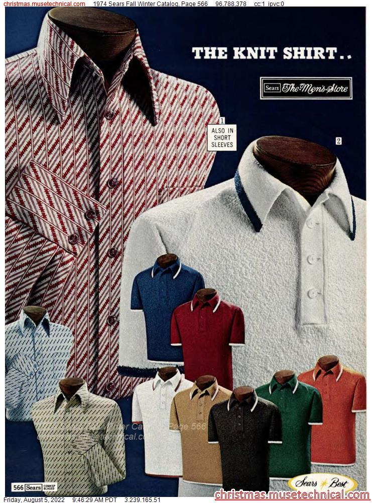 1974 Sears Fall Winter Catalog, Page 566