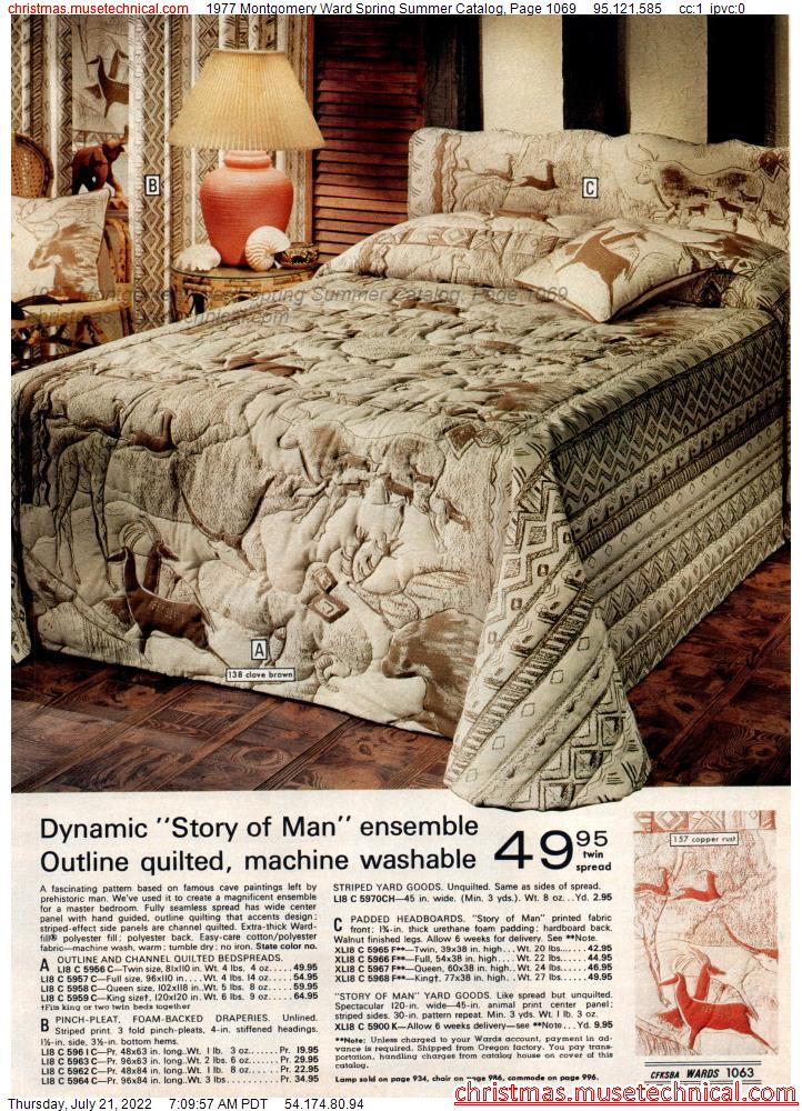 1977 Montgomery Ward Spring Summer Catalog, Page 1069