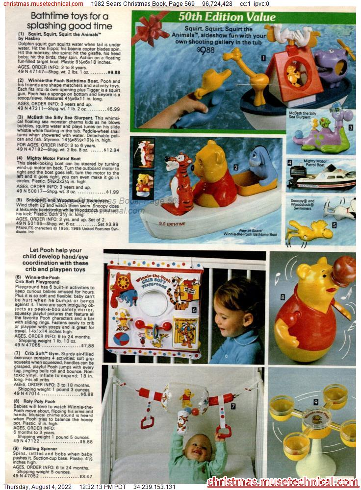 1982 Sears Christmas Book, Page 569