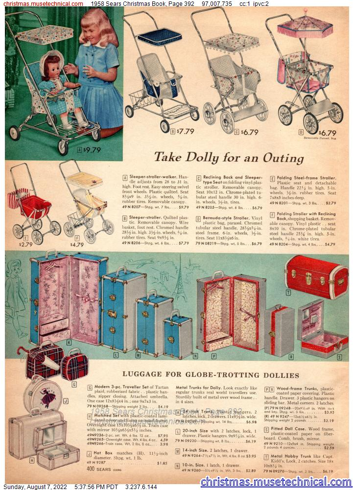 1958 Sears Christmas Book, Page 392