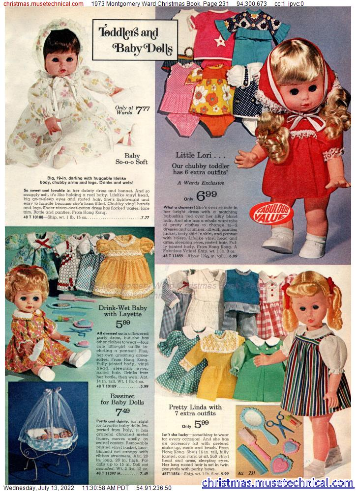 1973 Montgomery Ward Christmas Book, Page 231