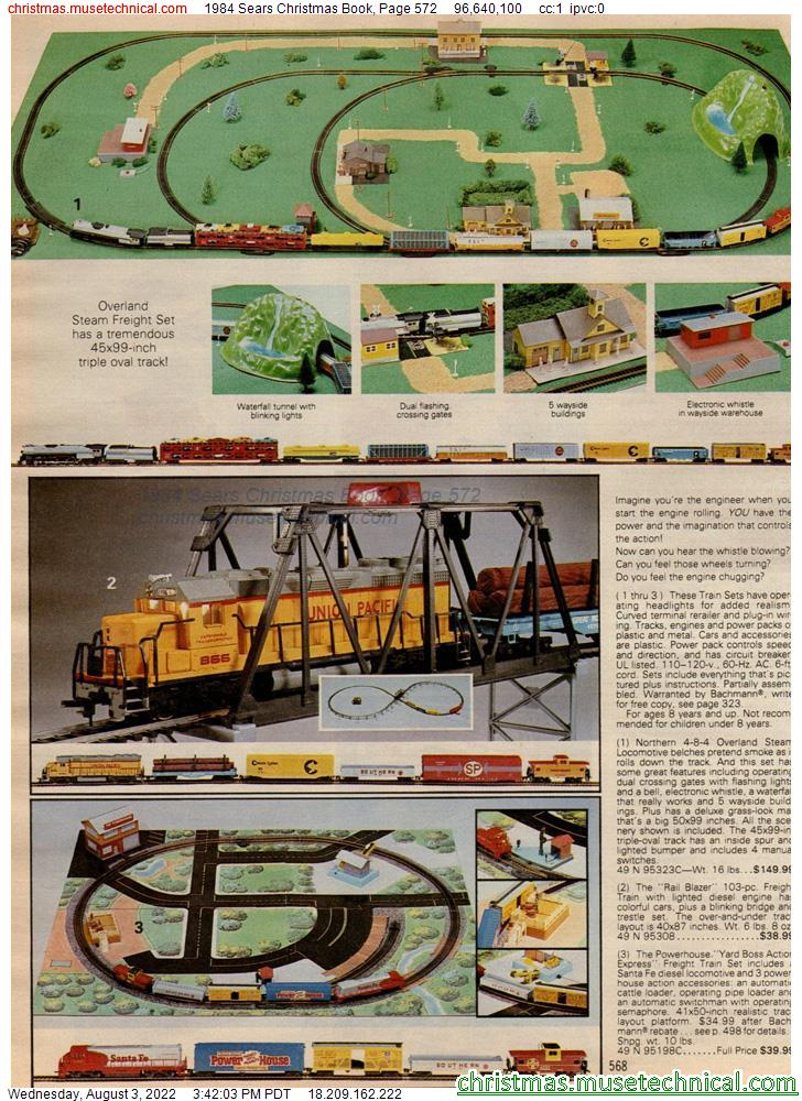 1984 Sears Christmas Book, Page 572