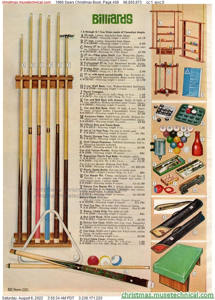 1966 Sears Christmas Book, Page 408