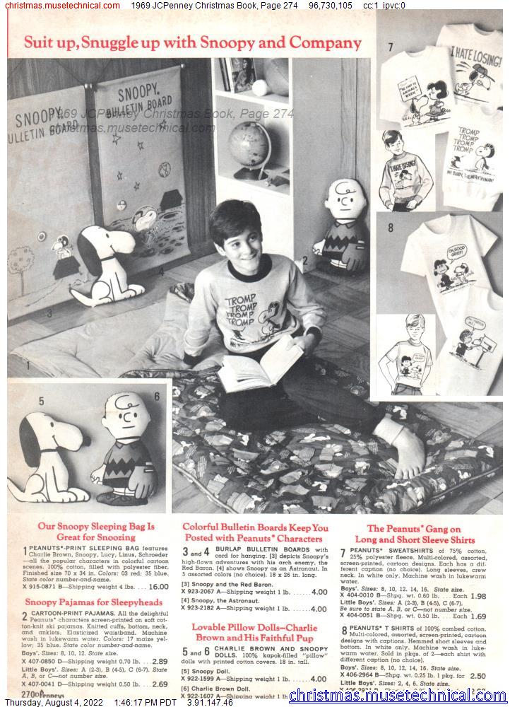 1969 JCPenney Christmas Book, Page 274