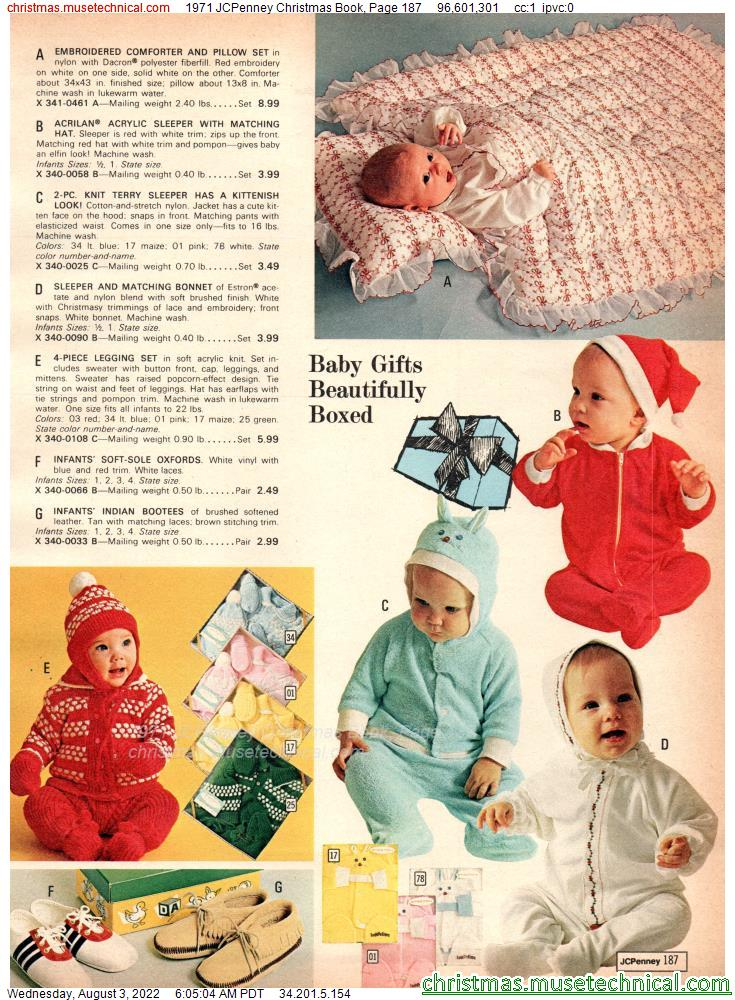 1971 JCPenney Christmas Book, Page 187