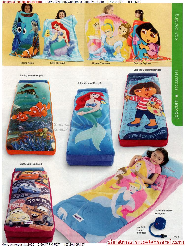 2006 JCPenney Christmas Book, Page 249