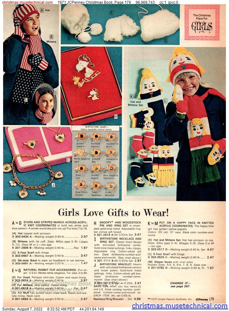 1971 JCPenney Christmas Book, Page 179