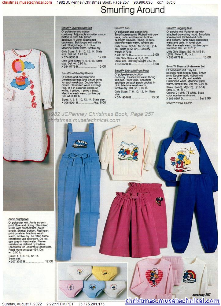 1982 JCPenney Christmas Book, Page 257