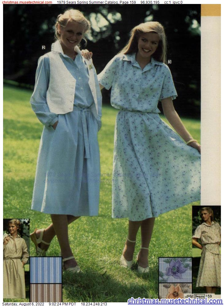1979 Sears Spring Summer Catalog, Page 159