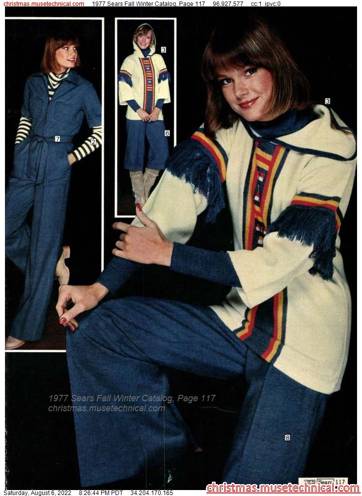 1977 Sears Fall Winter Catalog, Page 117